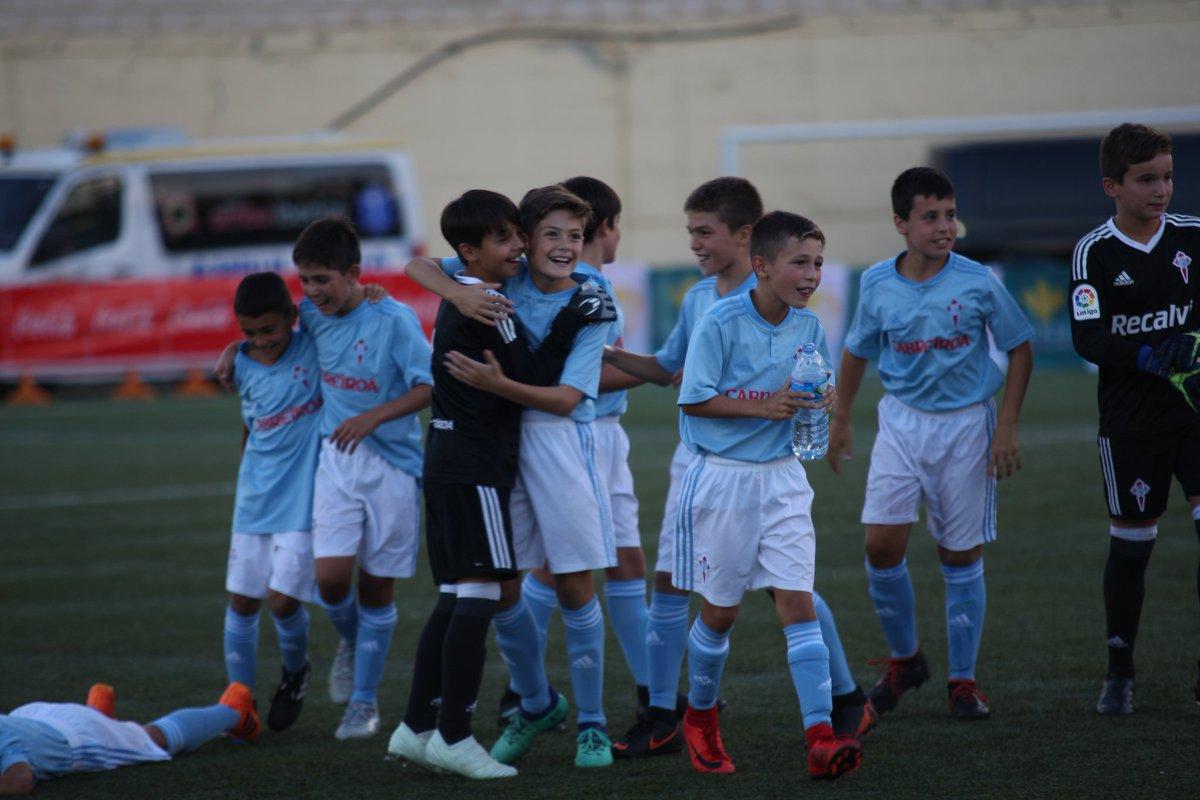 El Celta de Vigo, campeón de la Copa Tormes 2018