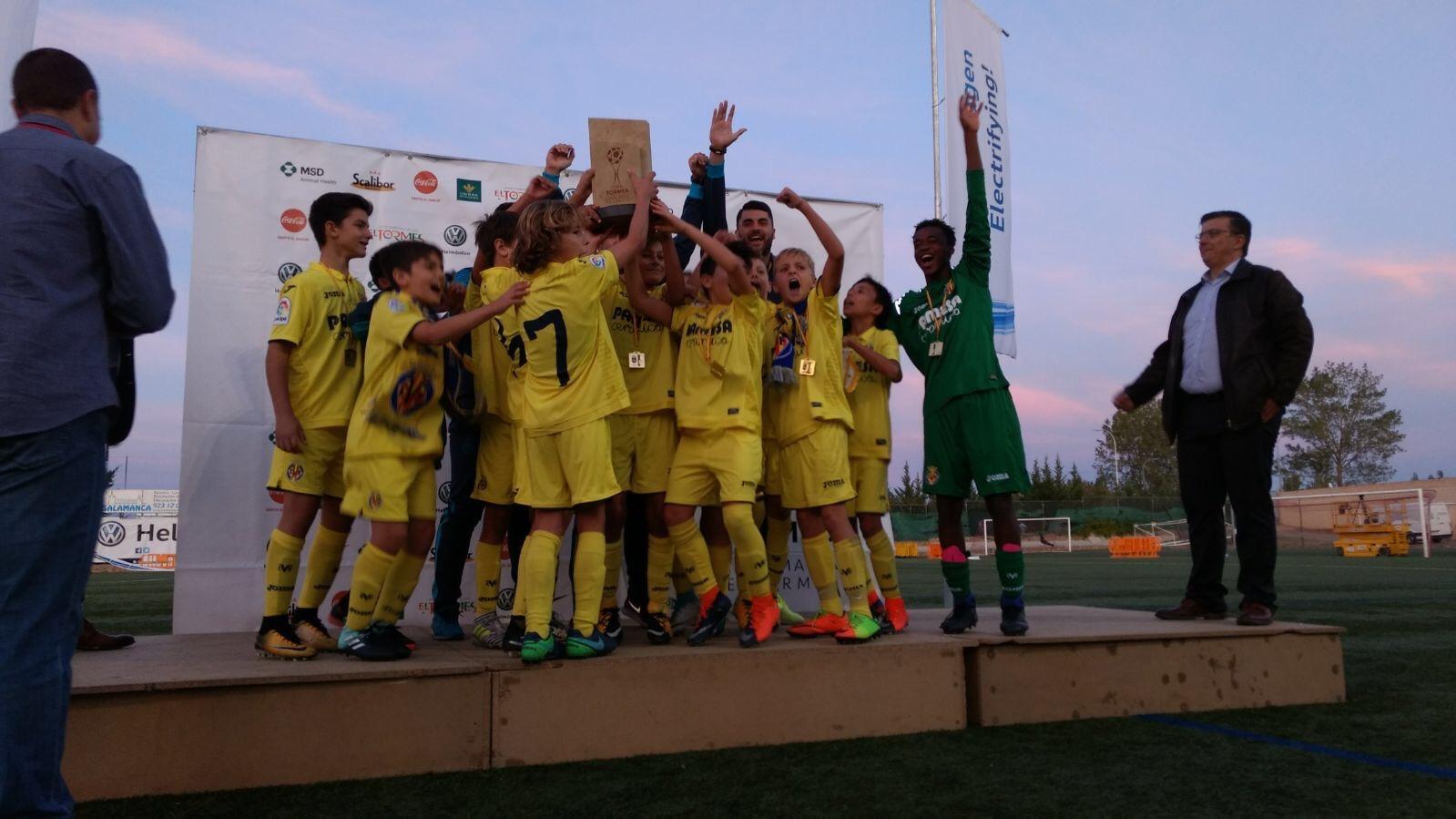 Villareal campeón de la segunda edición de la Copa Tormes